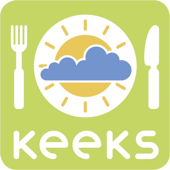 Logo KEEKS – Klima- und energieeffiziente Küche in Schulen